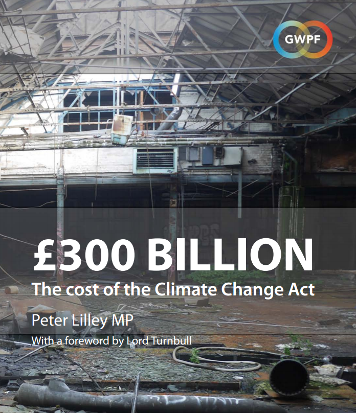 Image result for 300 billion climate GWPF