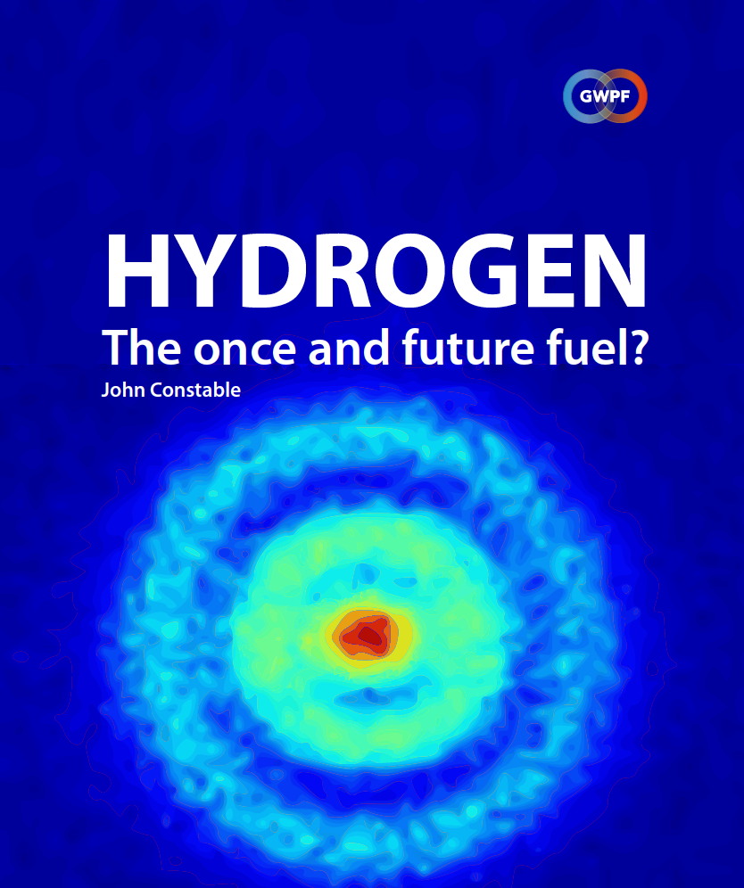 Hydrogen the once and future fuel cover